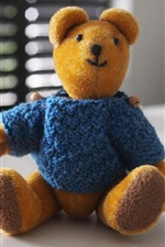 Preview iPhone wallpaper Furry toy, teddy