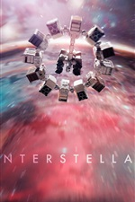 Preview iPhone wallpaper Interstellar 2014