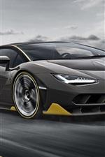 Lamborghini LP770-4 velocidade supercarro preto