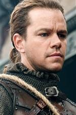 Preview iPhone wallpaper Matt Damon, warrior, The Great Wall