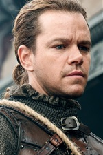 Matt Damon, warrior, The Great Wall