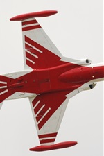 Preview iPhone wallpaper Northrop, Turkish Stars NF-5A fighter