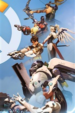 Preview iPhone wallpaper Overwatch, popular PC games