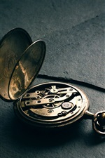 Preview iPhone wallpaper Pocket watch, precision struct