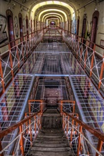 Preview iPhone wallpaper Prison, interior