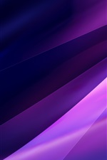 Preview iPhone wallpaper Purple abstract background, light