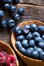 Raspberry, blueberry, cherry, fresh fruit