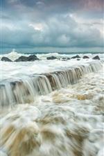 Meer, Wellen, Sturm