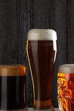 Summer alcoholic beverages, beer, mugs