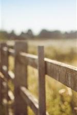 미리보기 iPhone 배경 화면 여름, 울타리, 흐릿한