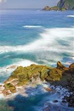Preview iPhone wallpaper Summer, sea, coast, nature