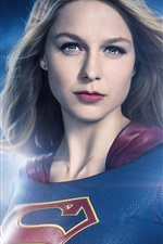 Preview iPhone wallpaper Supergirl, hairstyle, comic heroes, TV Series
