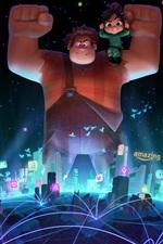 iPhone fondos de pantalla Wreck-It Ralph 2