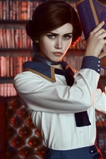 Preview iPhone wallpaper Bioshock Infinite, Elizabeth, cosplay girl