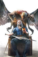 Preview iPhone wallpaper Classic games, The Witcher 3: Wild Hunt