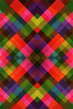 Preview iPhone wallpaper Colorful shape stripes, abstract picture