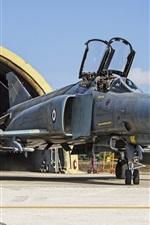 Preview iPhone wallpaper F-4E Phantom II multipurpose fighter