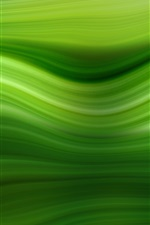 Preview iPhone wallpaper Green lines background, abstract