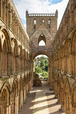 Preview iPhone wallpaper Scotland, architecture, ruins, abbey