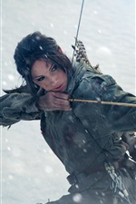 Preview iPhone wallpaper Tomb Raider, Lara Croft, cosplay girl