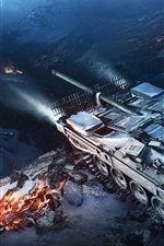 Preview iPhone wallpaper World of Tanks, hot games HD