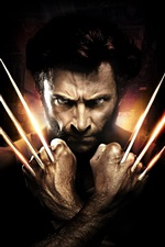 Preview iPhone wallpaper X-Men, Hugh Jackman, Wolverine