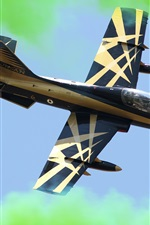 Preview iPhone wallpaper Aermacchi MB-339 light attack fighter
