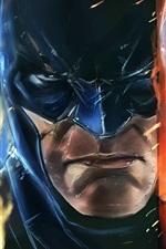 Batman: Arkham Origins, foto de arte