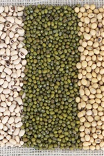 Preview iPhone wallpaper Beans, colors, grain