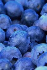 Blueberries macro, fruit photography