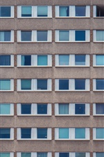 iPhone обои Здания, дома, стены, окна