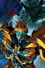 Preview iPhone wallpaper Bumblebee, Transformers 5: The Last Knight
