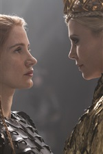 Charlize Theron, Jessica Chastain, The Huntsman: Winter's War