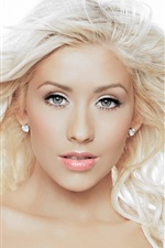 Preview iPhone wallpaper Christina Aguilera 21