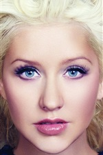 Preview iPhone wallpaper Christina Aguilera 22