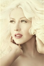 Preview iPhone wallpaper Christina Aguilera 23