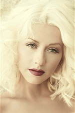 Preview iPhone wallpaper Christina Aguilera 24