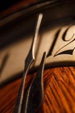 Preview iPhone wallpaper Clock, arrow