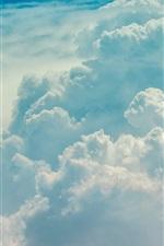 iPhone обои Облака, небо, природа