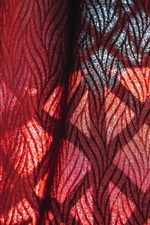 Preview iPhone wallpaper Curtain cloth, red
