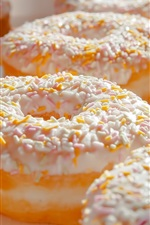 Preview iPhone wallpaper Donuts, delicious food