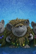 Preview iPhone wallpaper Frozen, trolls, Disney cartoon