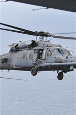 Preview iPhone wallpaper HH-60G Pave Hawk helicopter
