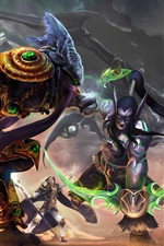 Preview iPhone wallpaper Heroes of the Storm, art picture