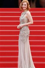 Vorschau des iPhone Hintergrundbilder Jessica Chastain 05
