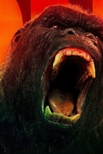 Preview iPhone wallpaper King Kong: Skull Island