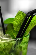 Preview iPhone wallpaper One cup mojito