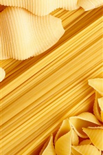 Preview iPhone wallpaper Pasta, food
