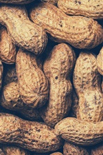 Preview iPhone wallpaper Peanuts, nut