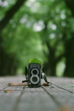 Preview iPhone wallpaper Rolleiflex camera
